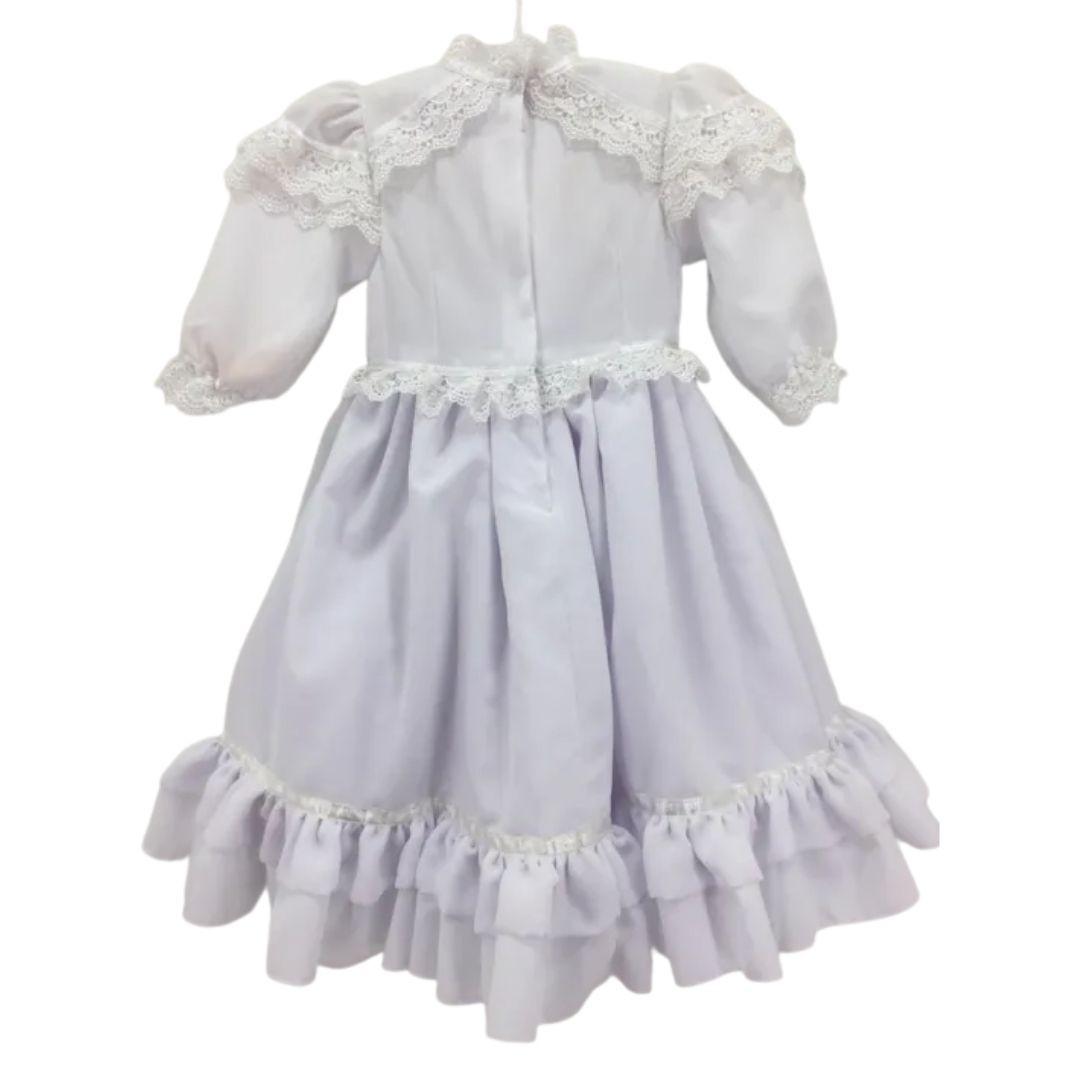 Vestido de Prenda 01 Ano Criações Darvami