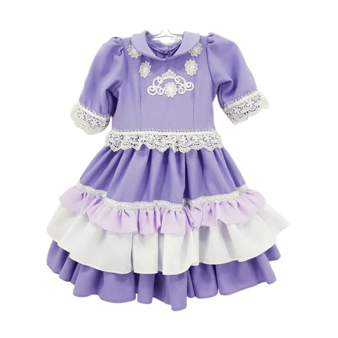 Vestido de Prenda RN Criações Darvami.