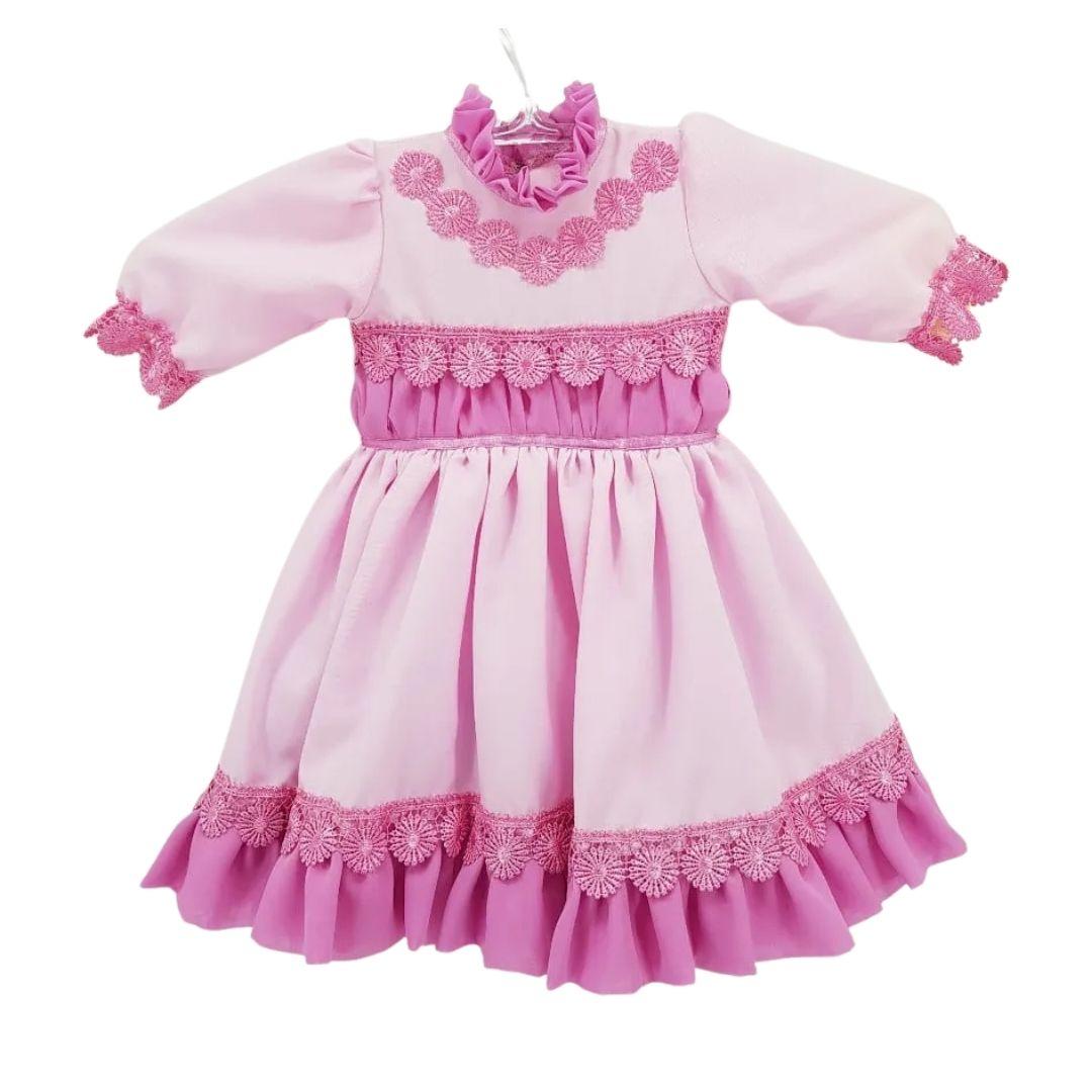 Vestido de Prenda RN Criações Darvami;