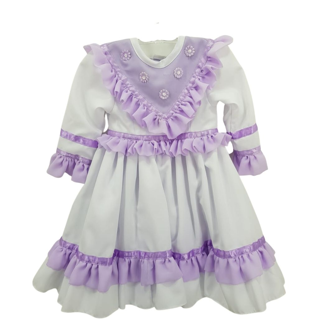 Vestido de Prenda RN Criações Darvami Lilás