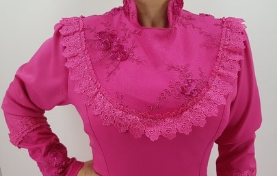 Vestido Prenda Rosa G Criações Darvami