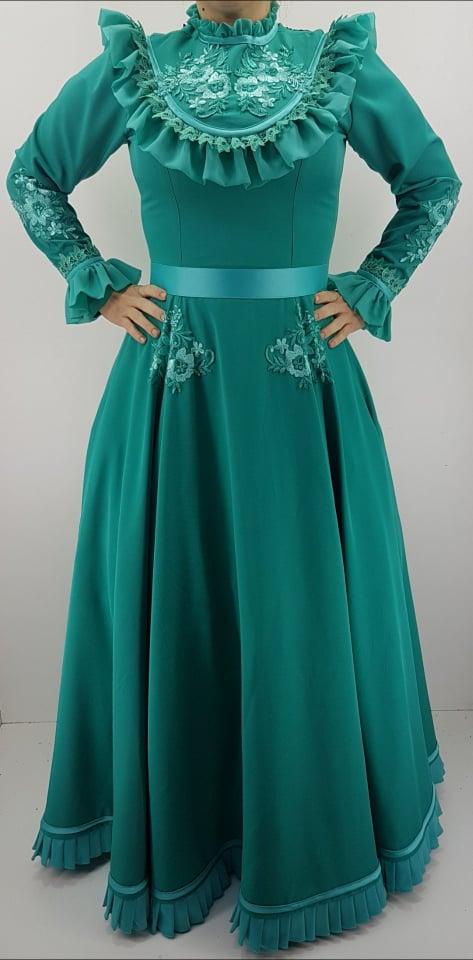 Vestido Prenda Verde G Criações Darvami