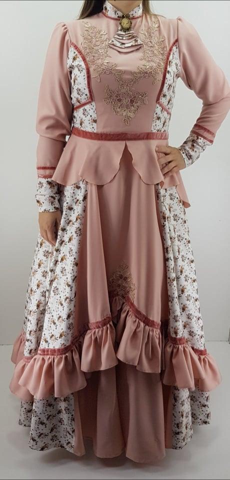 Vestidos Prenda Estampado M Criações Darvami