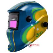 MASCARA DE SOLDA AUTO ESCURECIMENTO AUTOMATICO C/ REGULAGEM BRASIL - CA 42650
