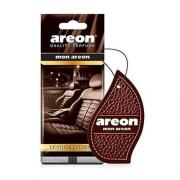Aromatizante de Carro Leather Interior (folhinha) AREON