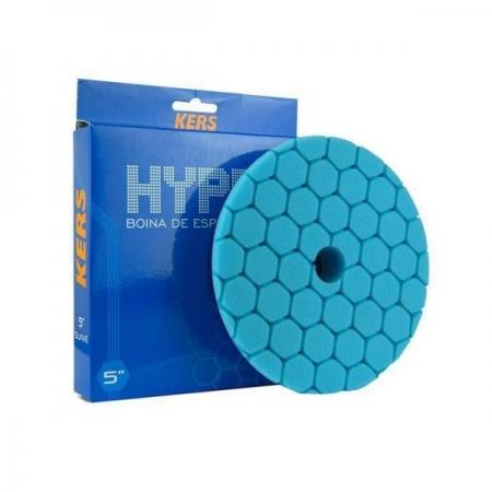 Boina de Espuma Suave Azul Hyper 5pol KERS