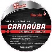 Cera de Carnauba Premium 200gr LINCOLN
