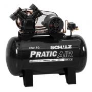Compressor de Ar Pratic Air CSV10 100L 220V SCHULZ