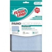 Flanela de Microfibra para Vidro 40x30cm FLASH LIMP