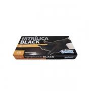 Luva Nitrilica Black Tam-G 20un CELESTE