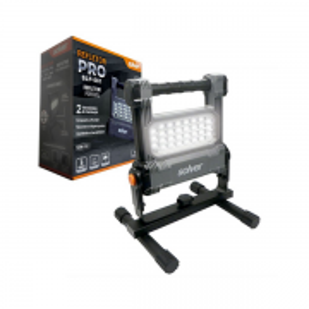 Refletor Portatil Led Recarregável sem Fio SLP-501 Pro 10w 1000lm Bivolt SOLVER