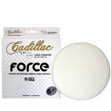 Boina de Espuma Branca Force (refino) 6,5pol CADILLAC