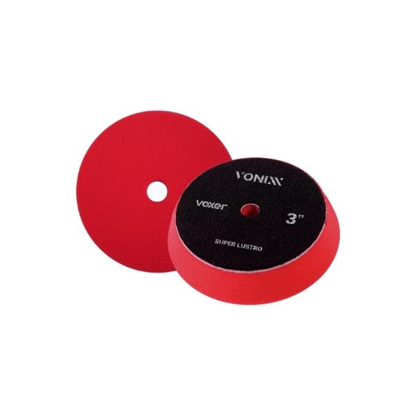 Boina de Espuma Vermelho (Super Lustro) Voxer 3pol VONIXX