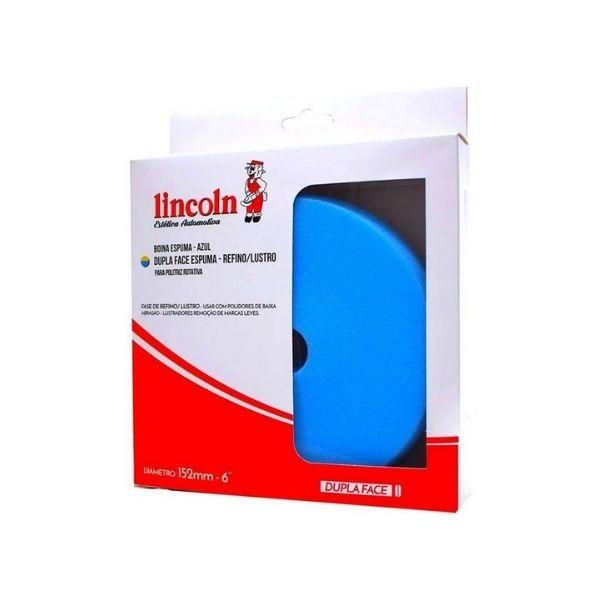 Boina Dupla Face de Espuma Azul (refino) 6pol LINCOLN