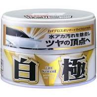 Cera de Carnauba + Polimeros Sintéticos Extreme Gloss White Cleaner 200g SOFT99