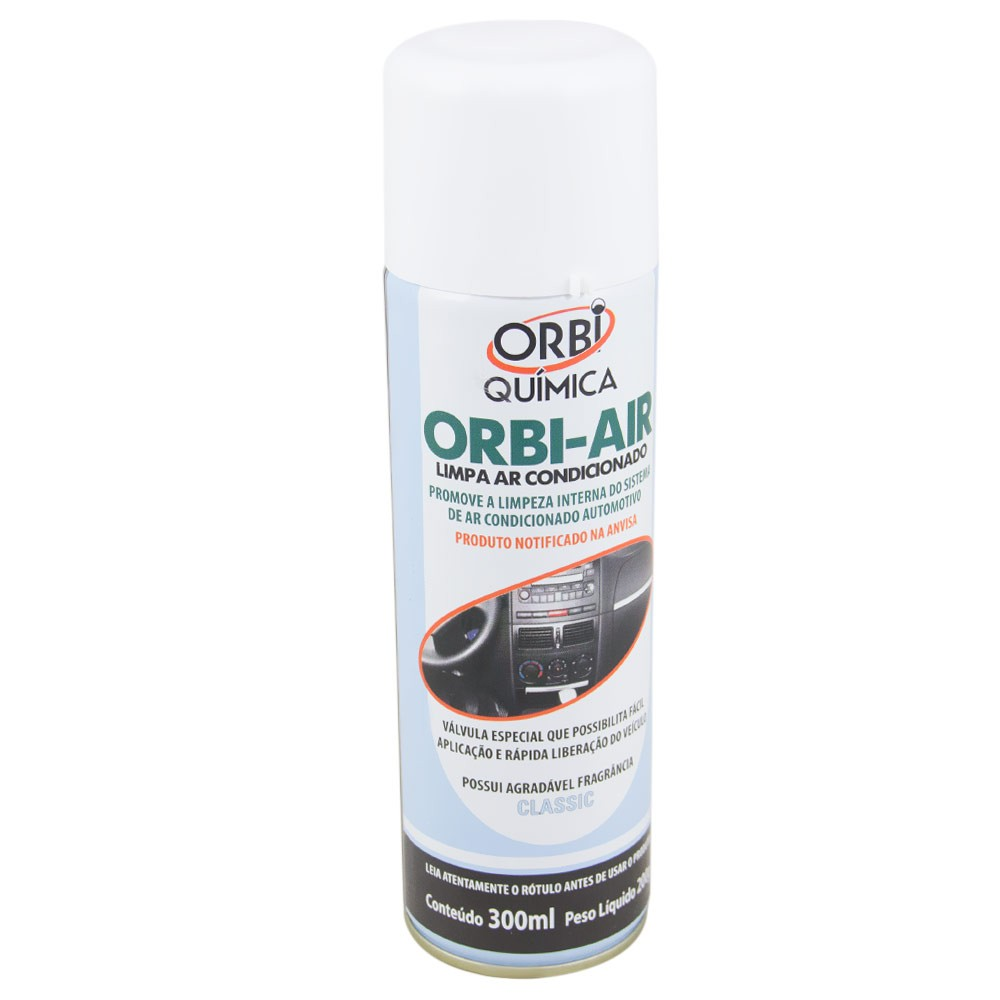 Higienizador de Ar Condicionado Classic Scleaner 200ml ORBI