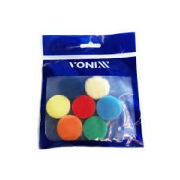 Kit 7 Boinas para Polimento 1pol VONIXX