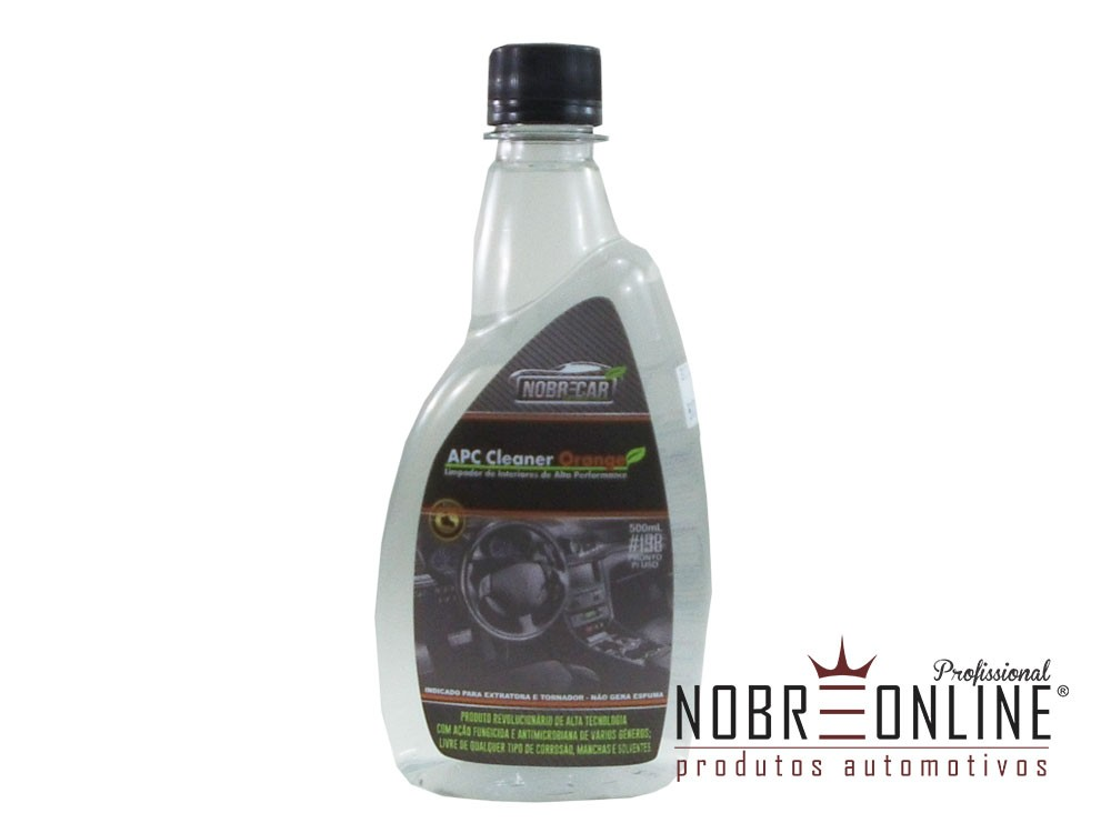Limpador de Interiores APC Cleaner Orange 1:50 500ml NOBRECAR