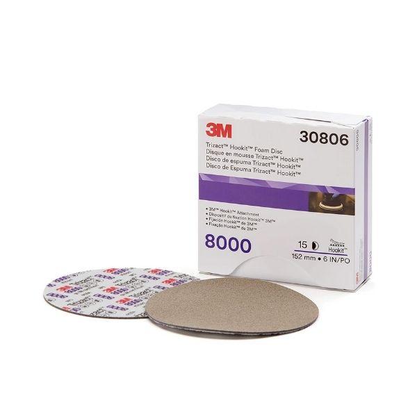 Lixa Disco Trizact 8000 152mm 3M