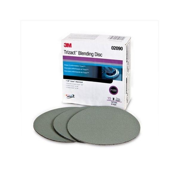 Lixa Disco Trizact P1000 152mm 3M