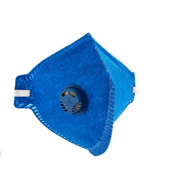 Máscara PFF2 (S) com Valvula DELTA PLUS