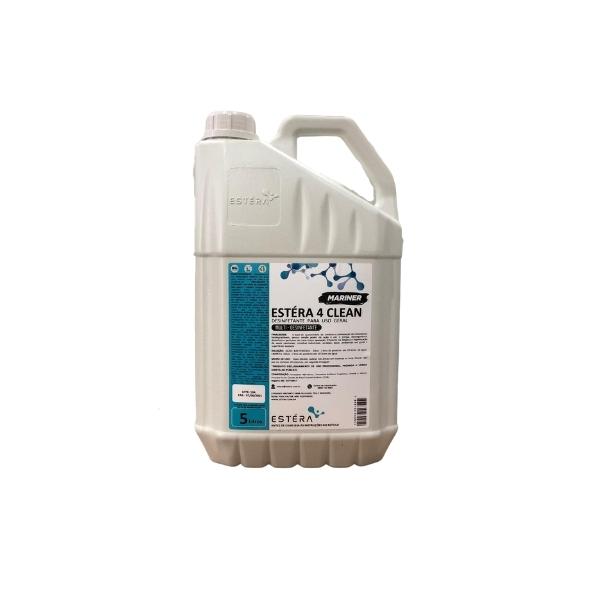 Multi Limpador, Desinfetante, Desengordurante e Bactericida 4 Clean 5L ESTERA