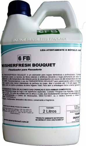 Odorizador Finalizador FinisherFresh Bouquet 2L SPARTAN