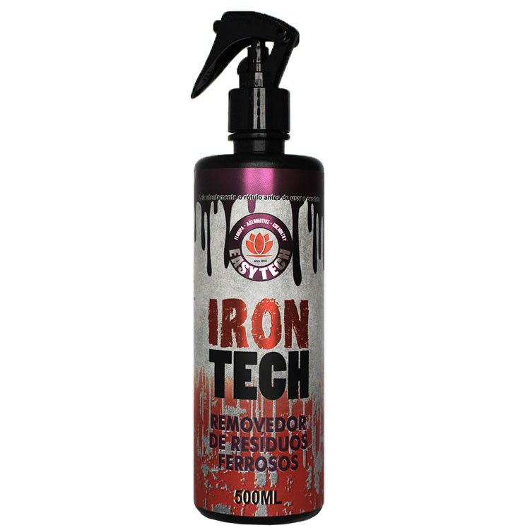 Removedor de Residuos Ferrosos Irontech 500ml EASYTECH