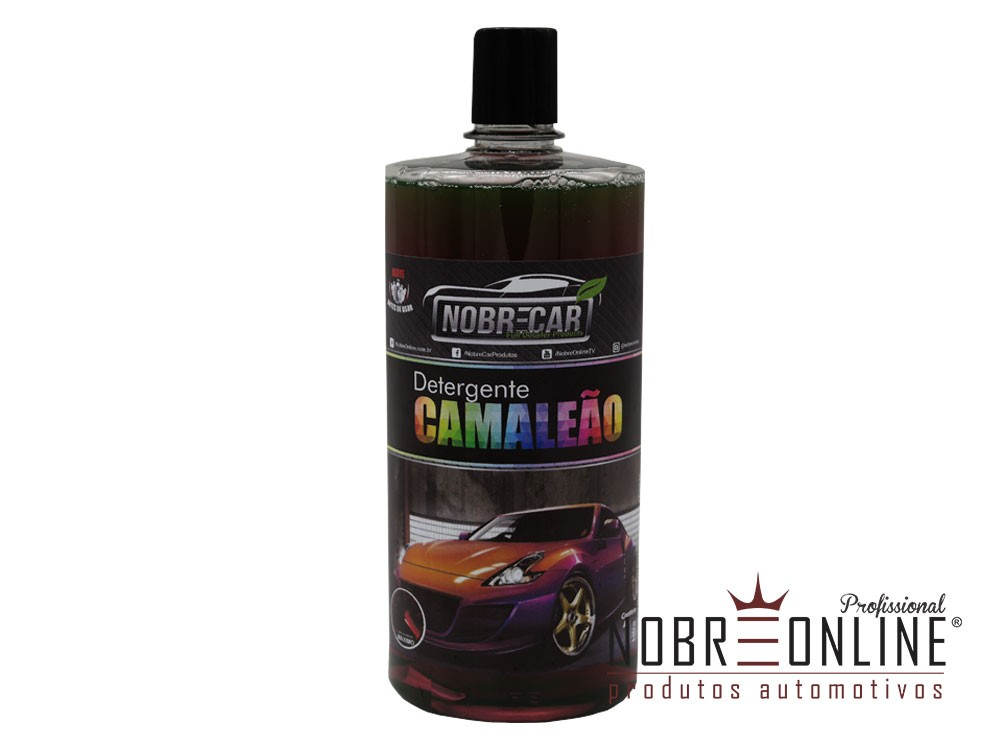 Shampoo Detergente Camaleão 1:200 1L NOBRECAR
