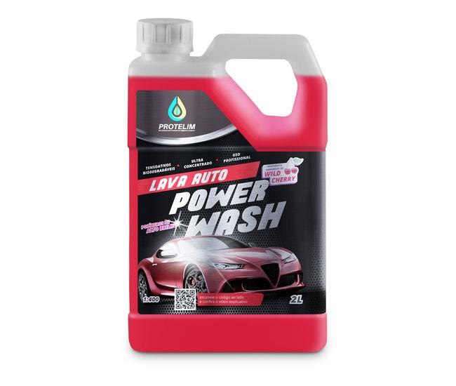Shampoo Lava Auto Power Wash 1:400 2L PROTELIM