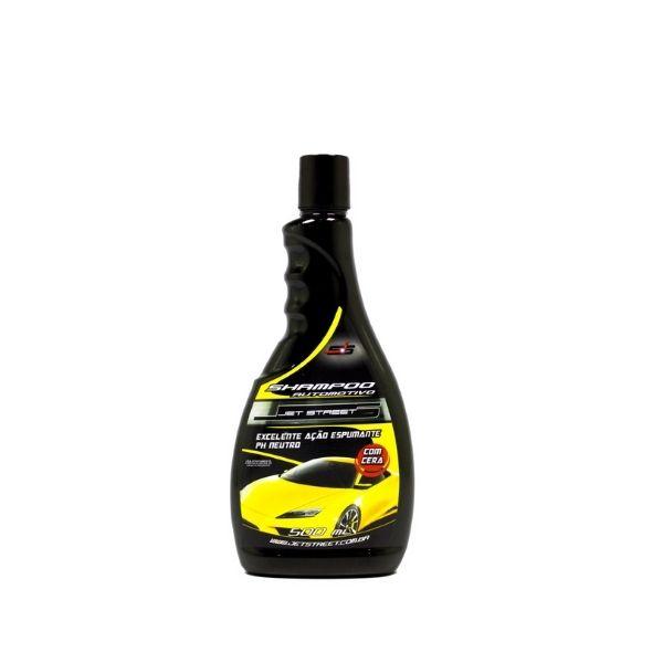 Shampoo Lava Autos com Cera 500ml JET STREET