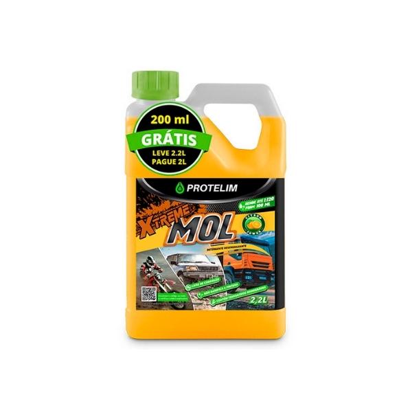 Xtreme Mol (Detergente desengraxante) 2,2L PROTELIM