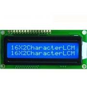 LCD 2 X 16 5V BLUE SMALL