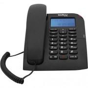 TELEFONE COM FIO TC 60 ID PRETO