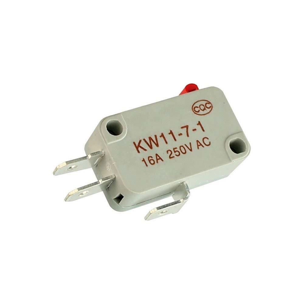 CH Micro Switch KW 11-7-1  Preto/Cinza