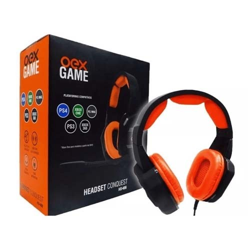 Headset Gamer Conquest HS 406