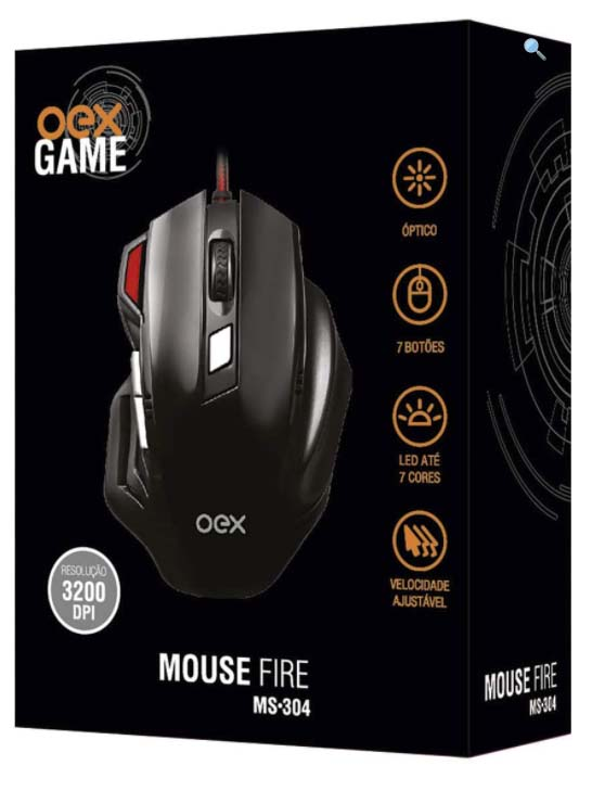 MOUSE FIRE MS 304  OEX