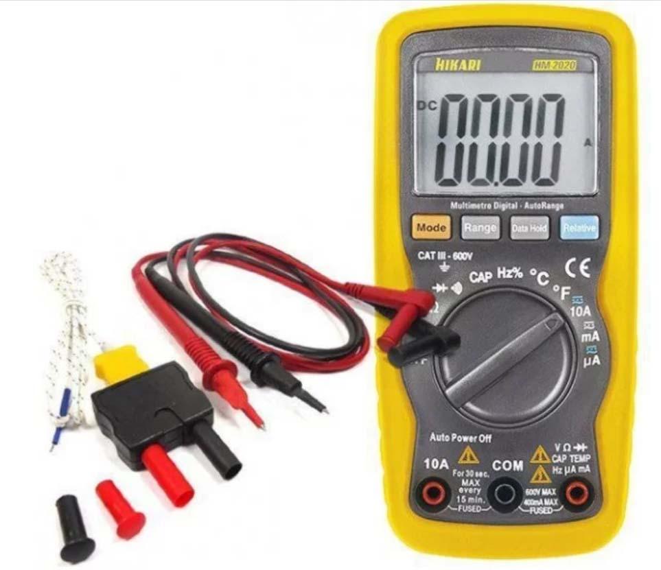 Multimetro Digital HM-2020 - HIKARI