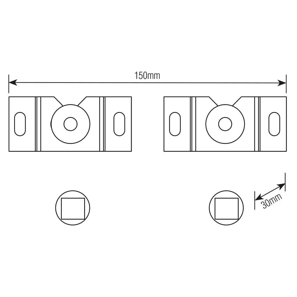 """Suporte FIXO UNIVERSAL para TV LED, LCD, Plasma, 3D e Smart TV de 10"""" a 85"""" – Brasforma SBRUB 759"""