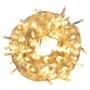 Cordão de LED 10m - 100 LEDs - Fio Transparente