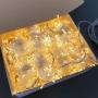 Cortina de LED 3x2,5m - 1200 LEDs