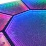 Piso Diamante 5x5m - LED RGB