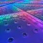 Piso Diamante Quadrado 4x4m - LED RGB