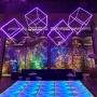 Piso Diamante Quadrado 5x5m - LED RGB