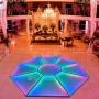 Piso Diamante 3x3m - LED RGBW