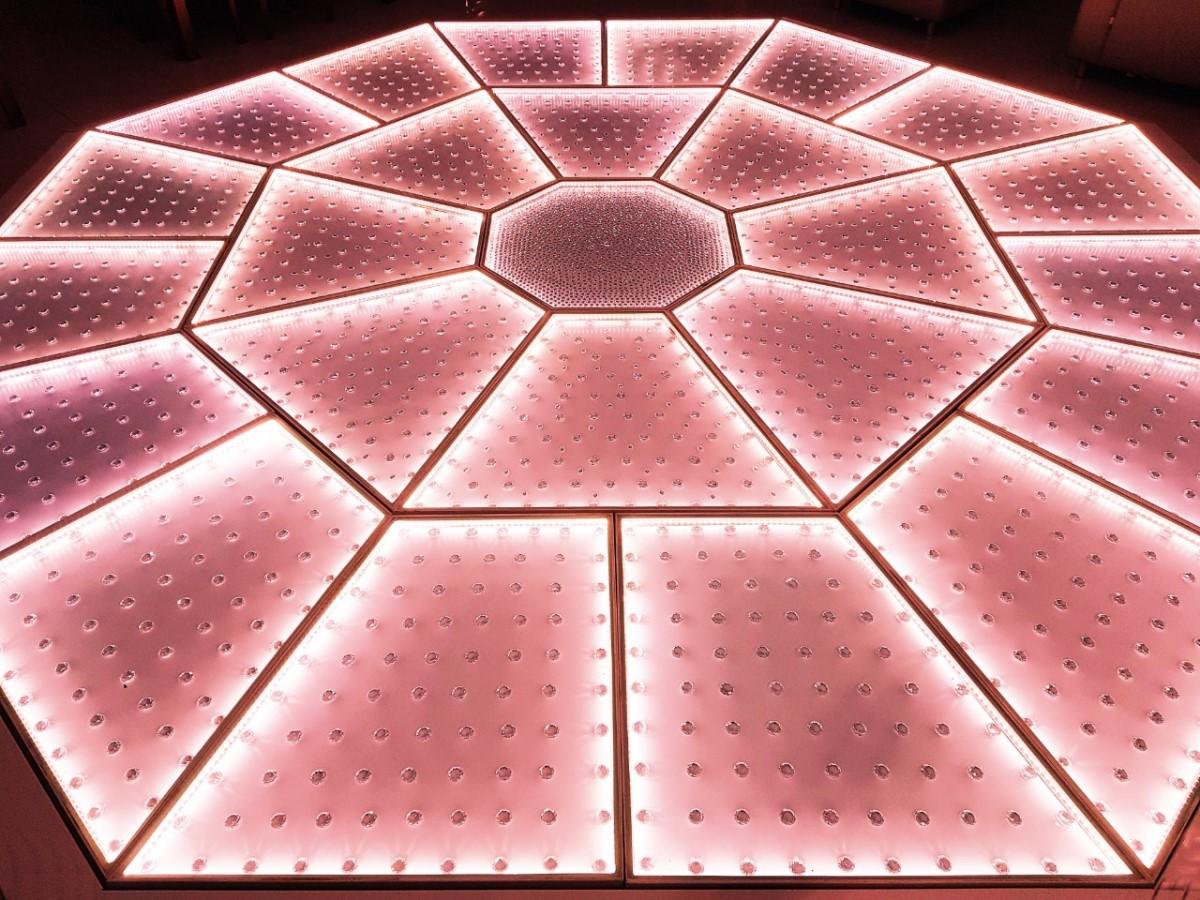 Pista Diamante 5x5m - LED RGBW