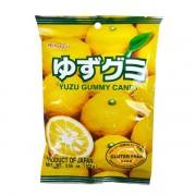 Bala Kasugai Sabor Yuzu Chinês - Yuzu Gummy Candy