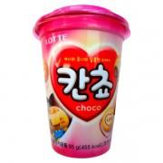 Biscoito de Chocolate Kancho Lotte em Copo 95g