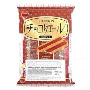 Biscoito Japones Chocoliere Recheado Com Chocolate Bourbon