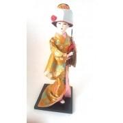 Boneca Gueixa Oriental Japonesa Modelo 10 KL